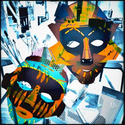 Hauts les Masques by NiQo